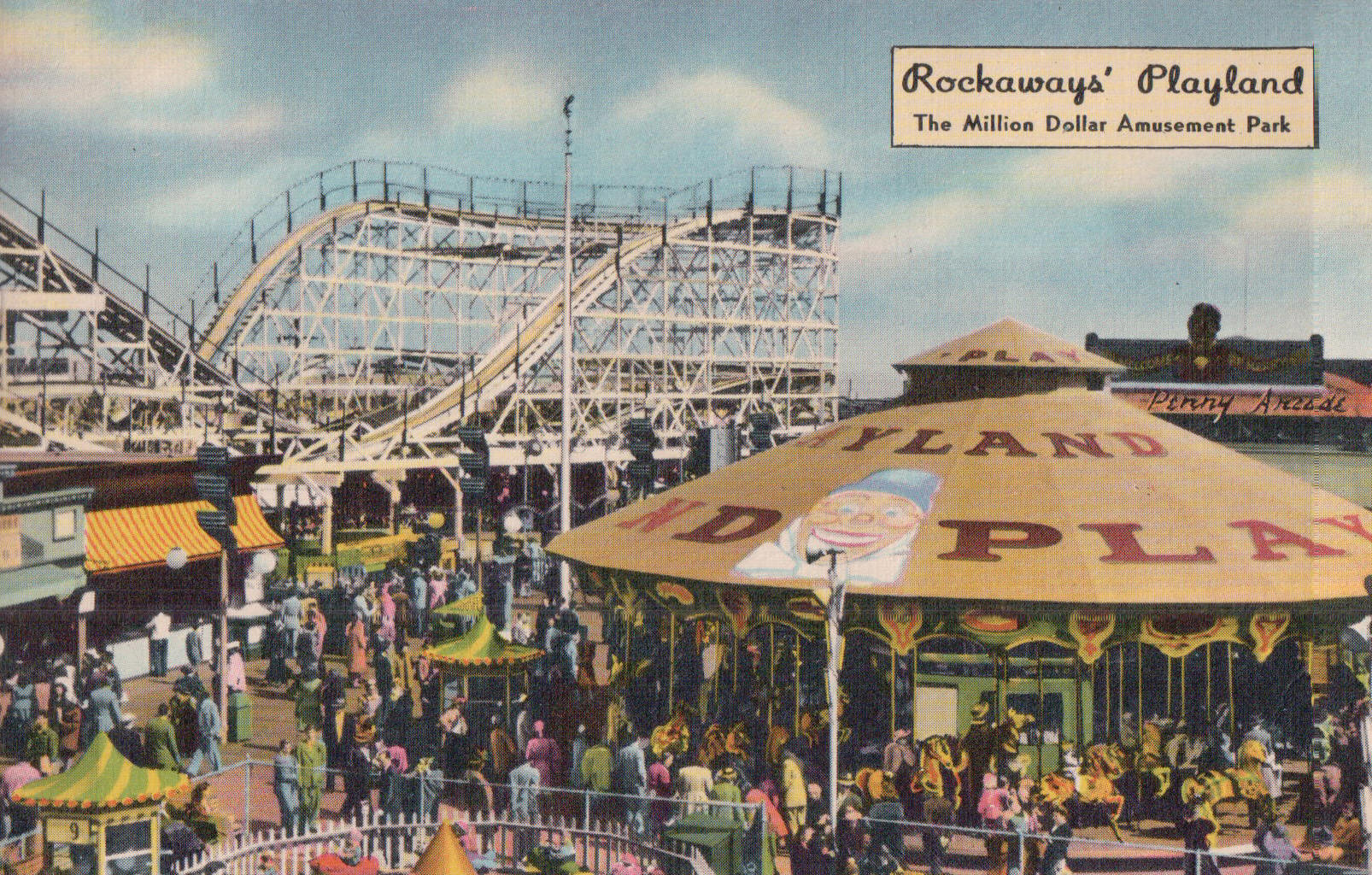 Lost Amusement Parks Of New York City Boroughs Of The Dead