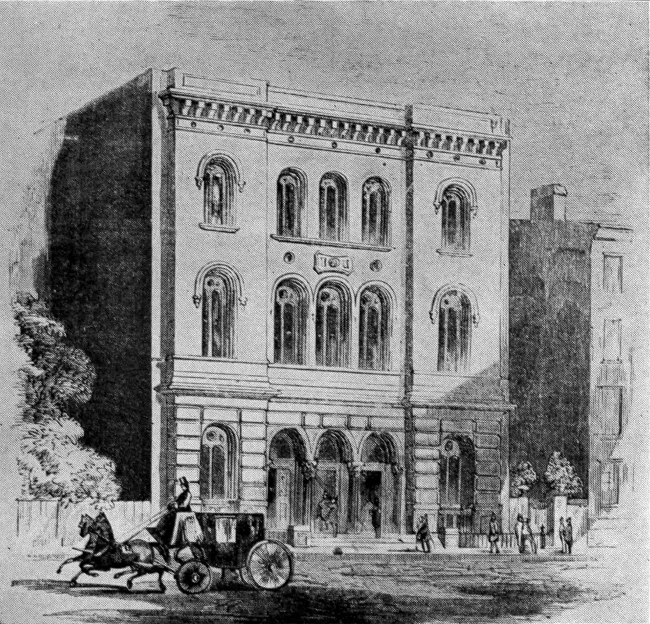 Astor_Library_building_1854