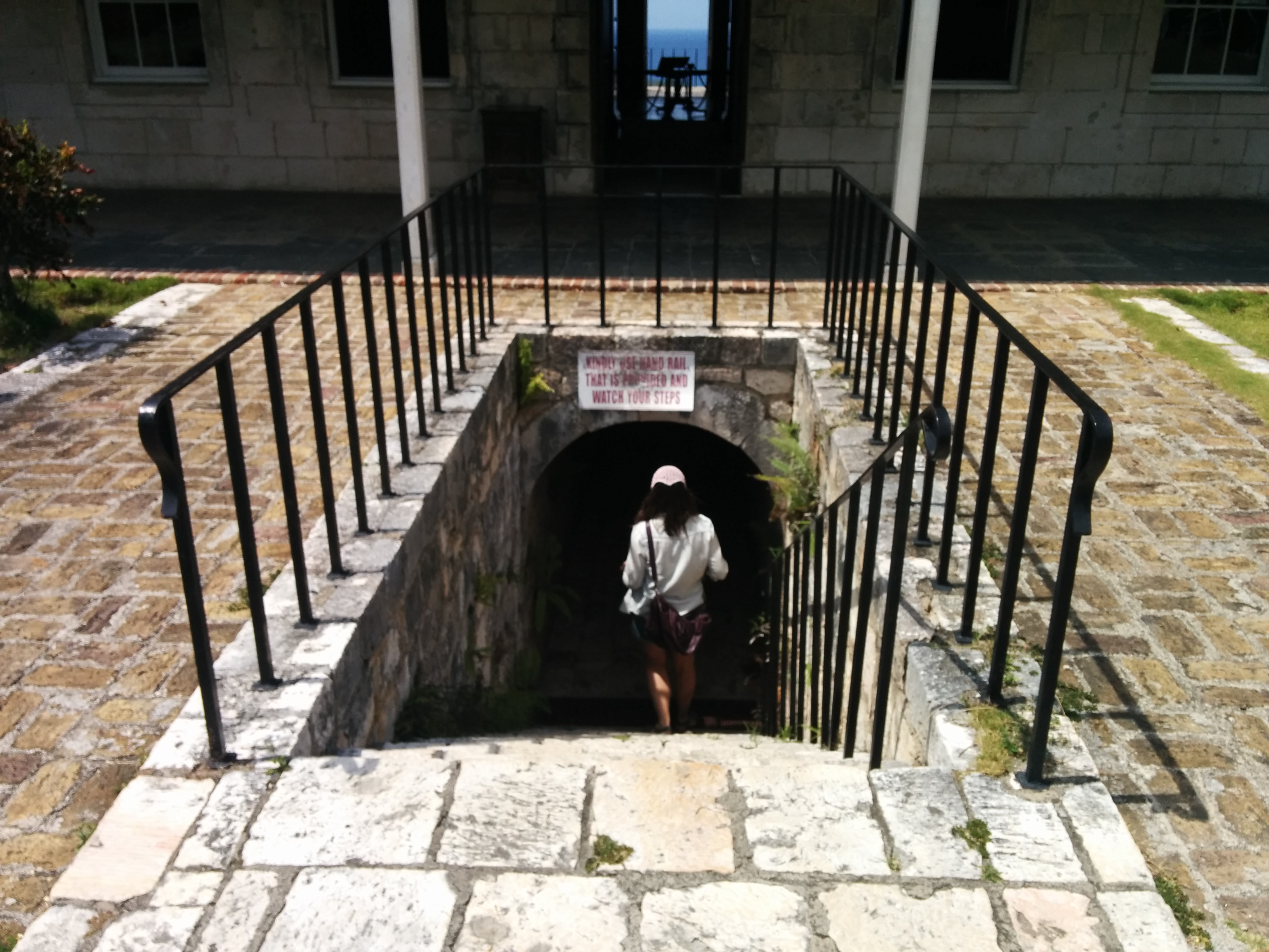The dungeon steps