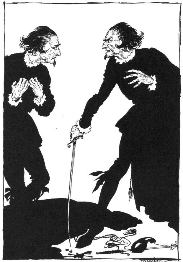 Rackham's Illustration for Edgar Allan Poe's William Wilson